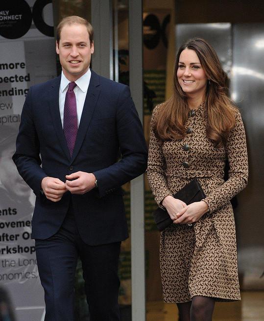 Kate a William se prý museli chvíli hledat.