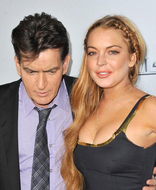 Akce se tehdy účastnila i krásná herečka a exmodelka Lindsay Lohan.