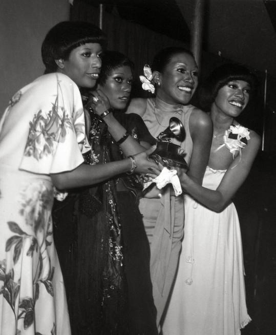 Kapela The Pointer Sisters, kterou Bonnie později opustila, aby se věnovala sólové dráze.