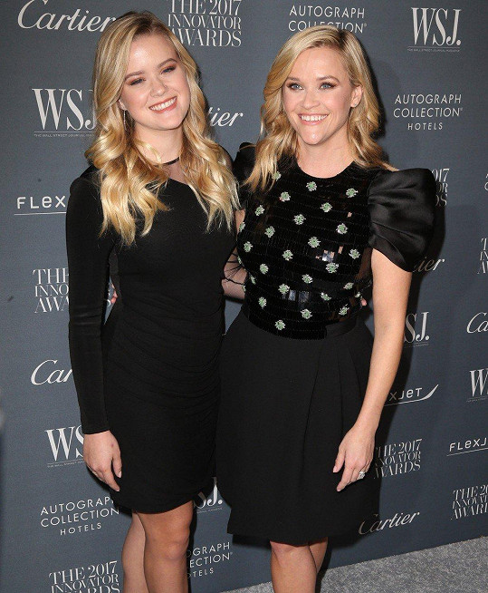 Reese Witherspoon s dcerou Avou