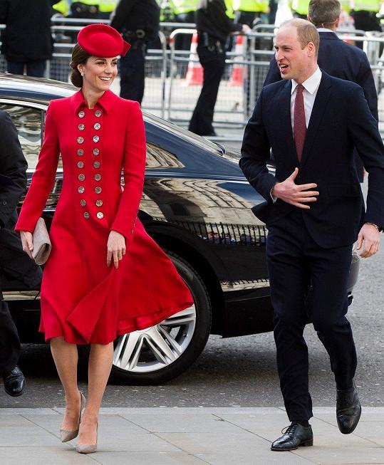 Vévoda a vévodkyně z Cambridge William a Kate