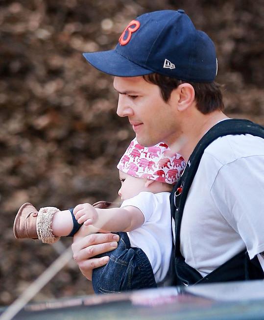 Ashton Kutcher s dcerou Wyatt