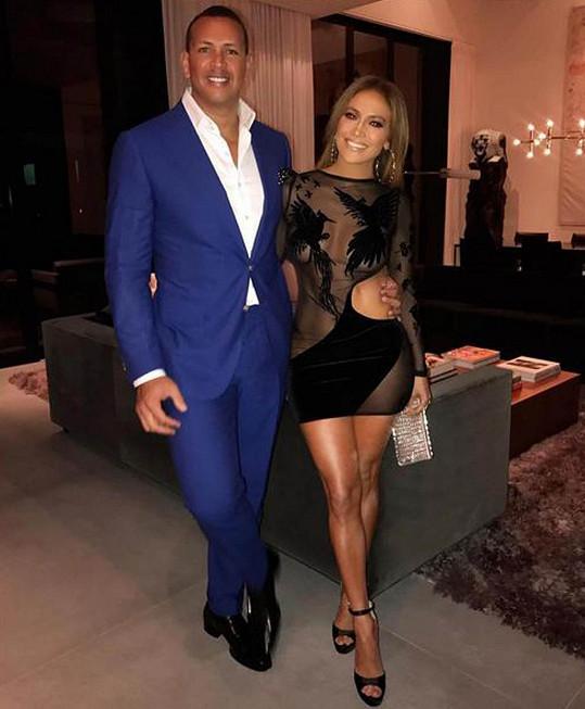 Jennifer Lopez s Alexem Rodriguezem