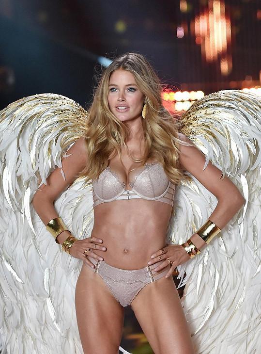 Andílek Doutzen patří mezi desítku nejlépe placených modelek světa.