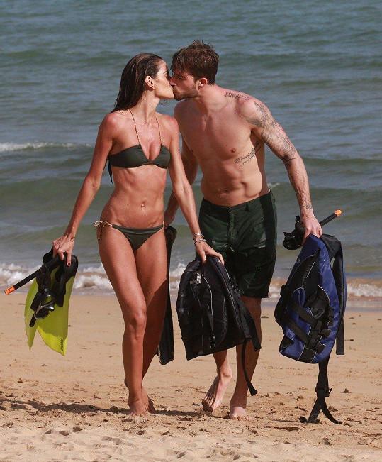 Modelka Izabel Goulart a její přítel Kevin Trapp