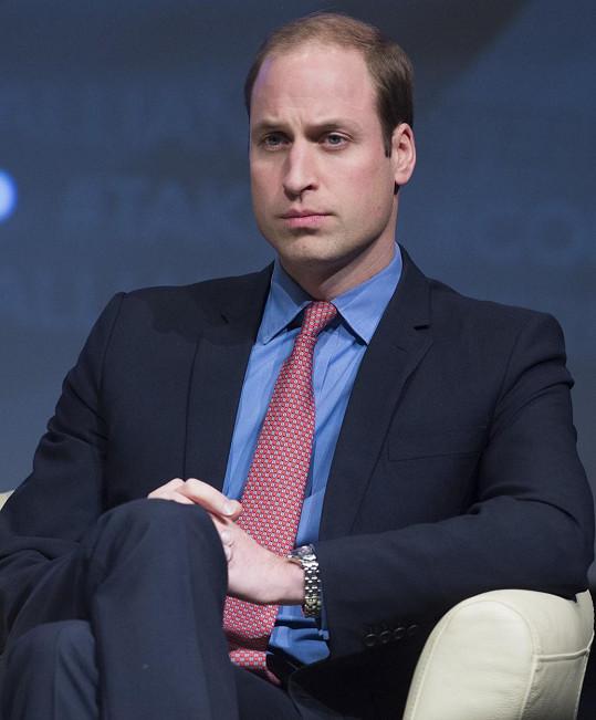 Princ William litoval, že jeho matka nepozná jeho děti.