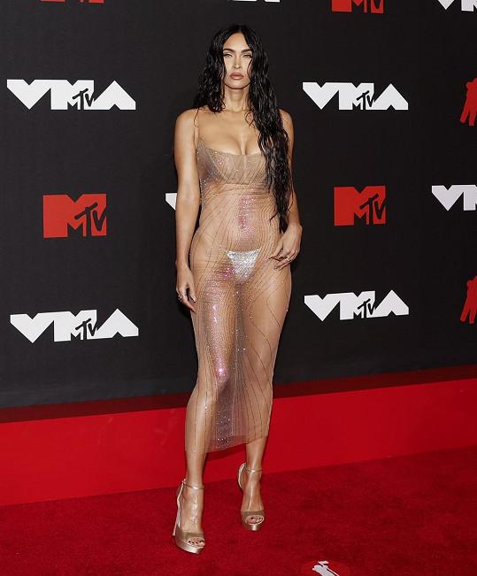 Megan Fox na předávání Video Music Awards