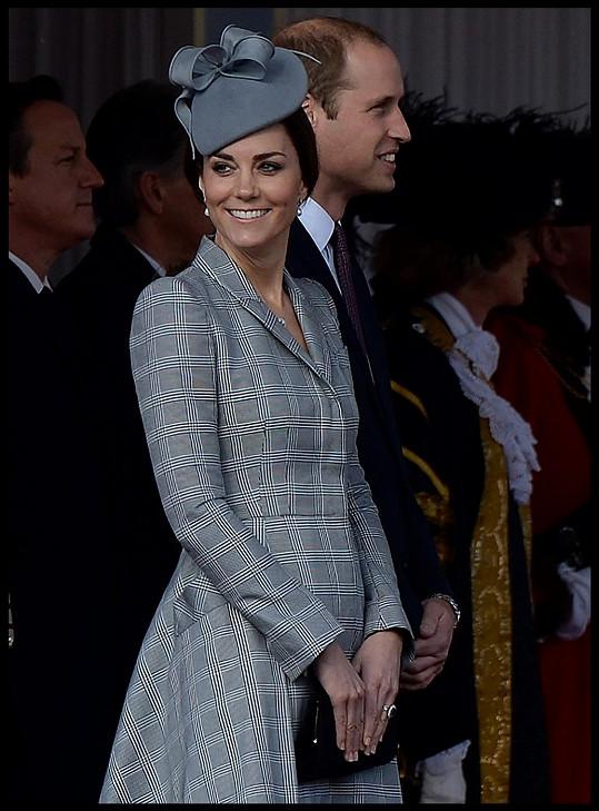 Oporou byl těhotné vévodkyni manžel William.