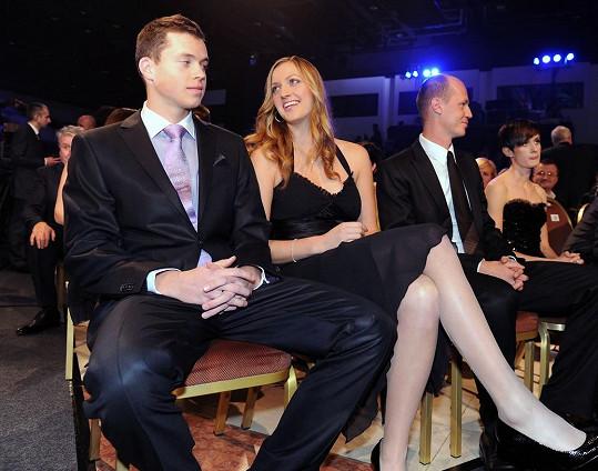 Petra Kvitová chodila s tenistou Adamem Pavláskem dva roky.