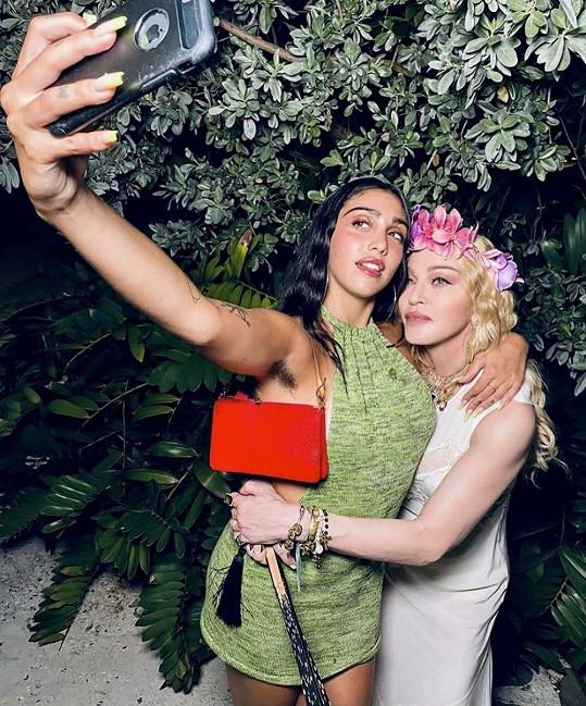 Lourdes Leon s maminkou Madonnou
