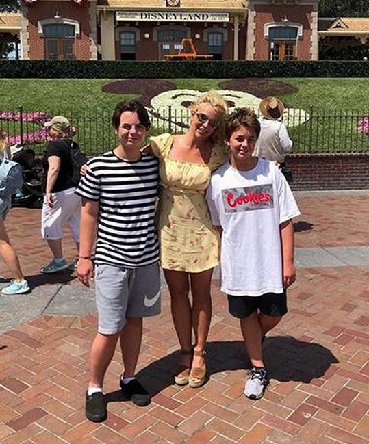 Synové Britney Spears Sean a Jayden byli svého času ve výhradní péči otce.