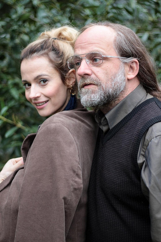Hynek Čermák s herečkou Lívií Bielovič