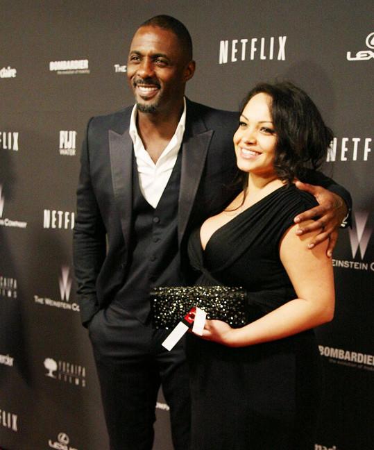 Idris Elba opustil partnerku Naiyanu Garth.