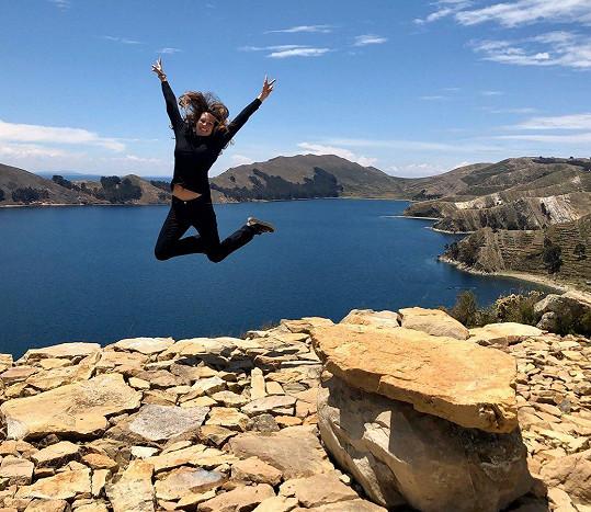 Eva je aktuálně v Bolívii.