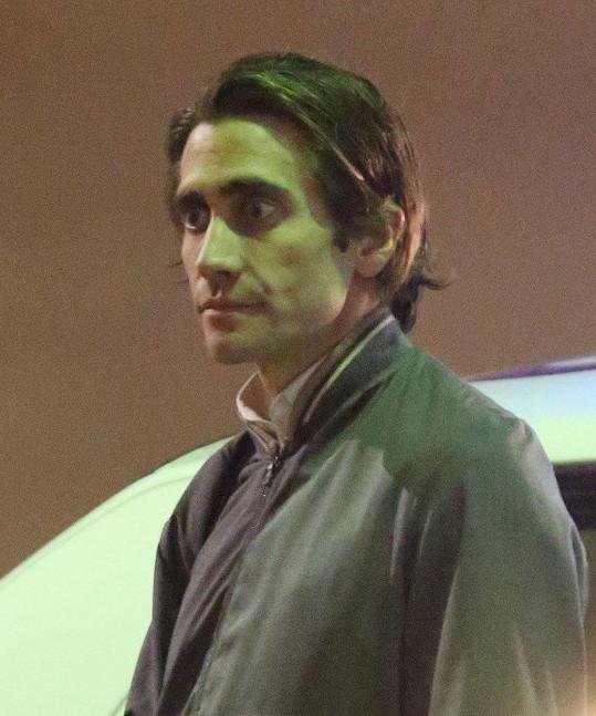 Jako novinář ve filmu Slídil (2014) vypadal trochu děsivě.