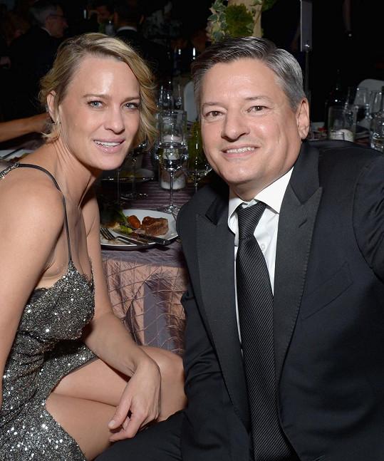 Exmanželka Seana Penna a Ted Sarandos