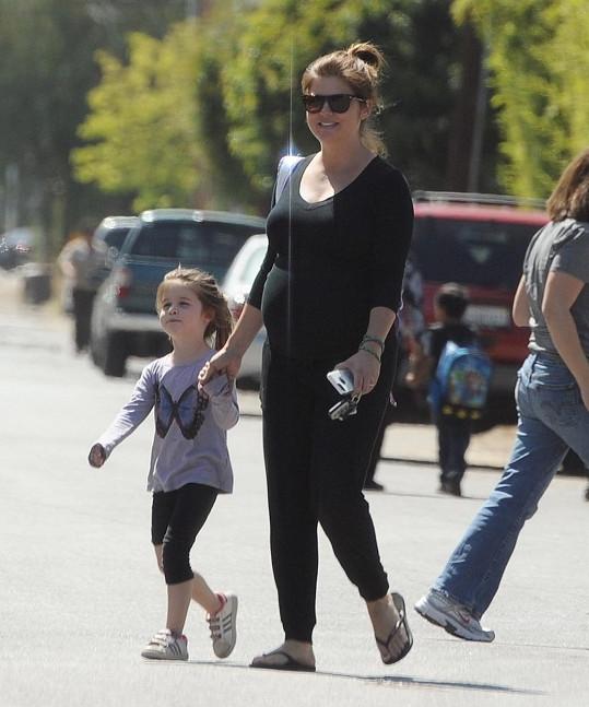Tiffani Thiessen s dcerou Harper