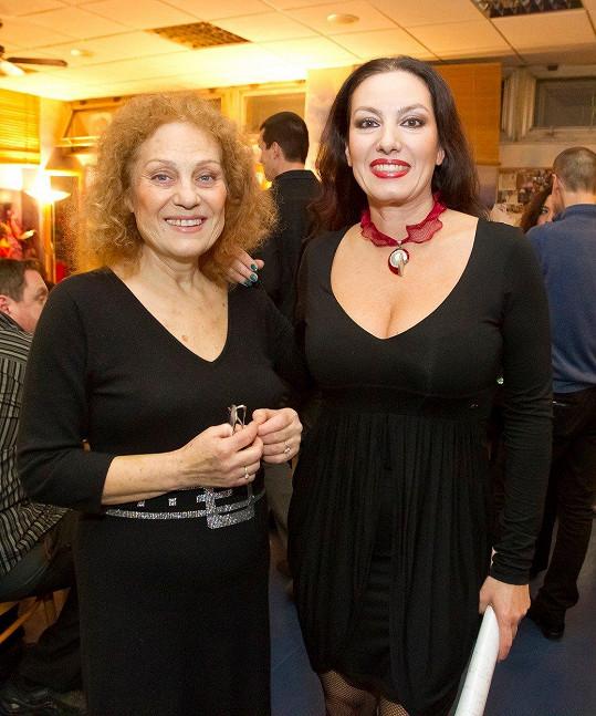S maminkou Soňou Valentovou