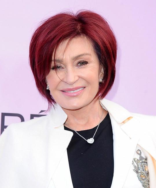 Sharon si barvila vlasy jednou týdně.