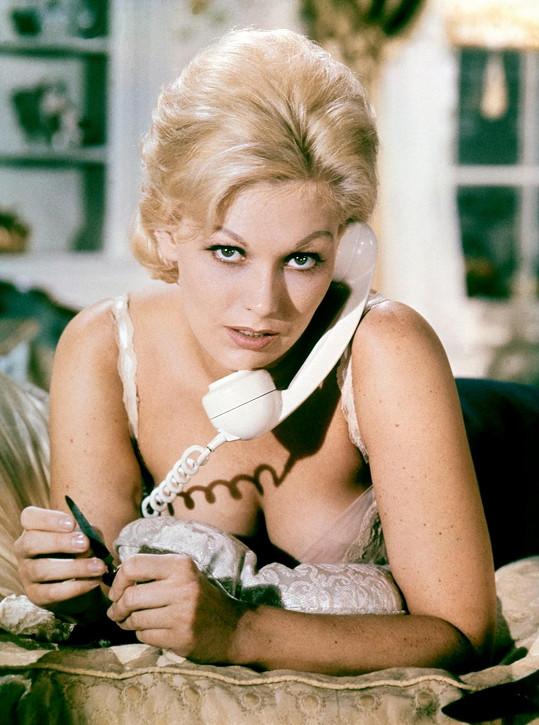 Kim Novak se v Hollywoodu prosadila už v 50. letech minulého století.