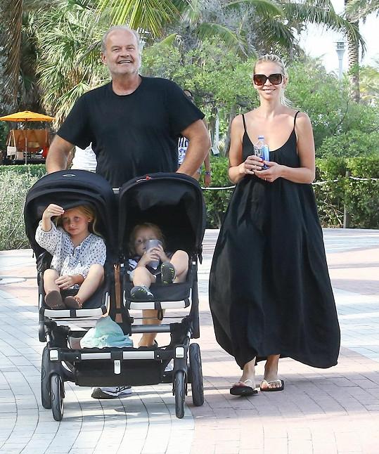 Grammerovi a jejich dvě děti