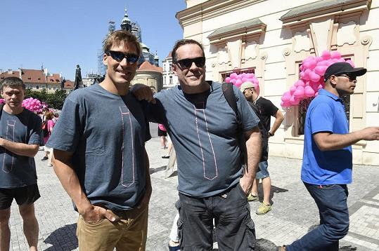 Miroslav Etzler (vpravo)