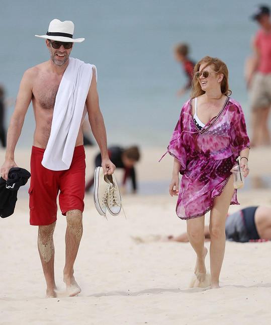 Sacha a jeho o 31 centimetrů menší manželka Isla