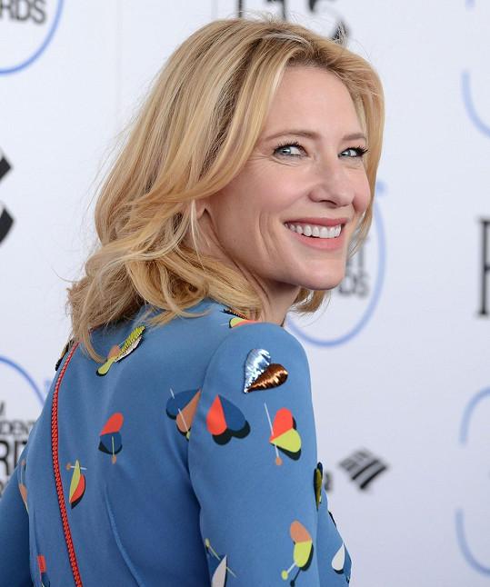 Cate Blanchett poznala i ženskou lásku.