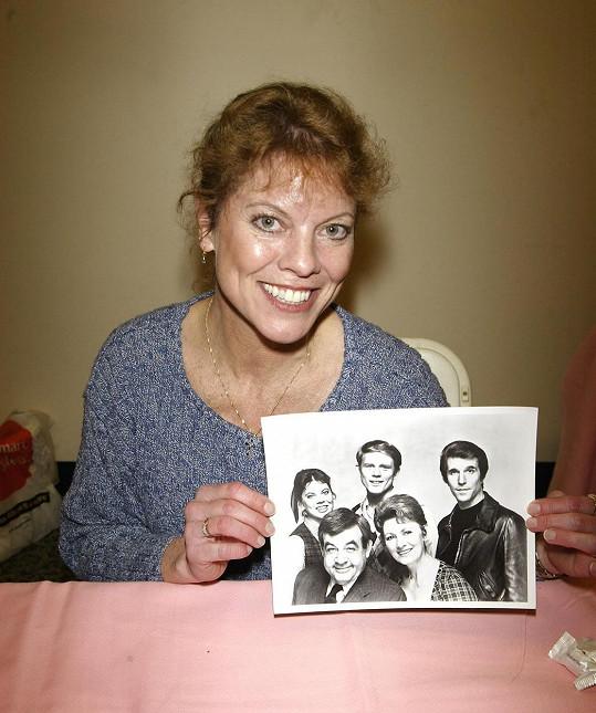 Herečka na seriál Happy Days ráda vzpomínala.
