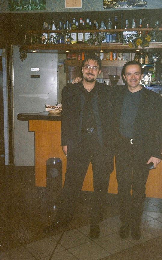 S Dodi Battagliou z Pooh v roce 1995