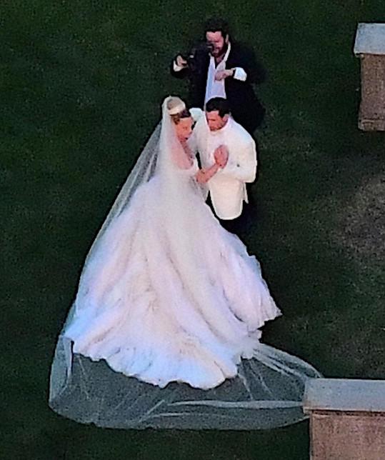 Maksim a Peta vstoupili do manželství.