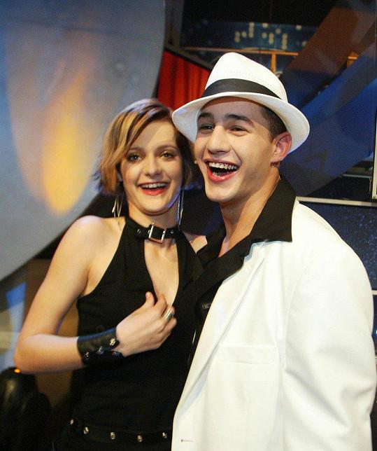 Šárka a Sámer v SuperStar v roce 2004