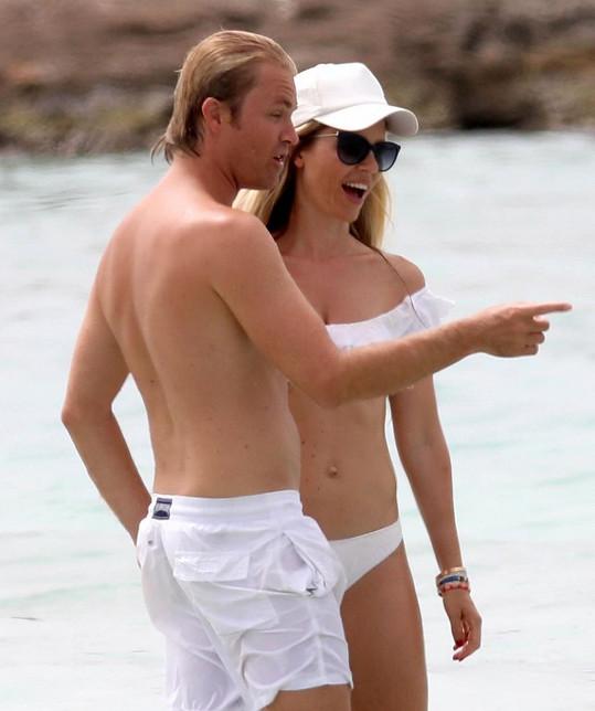 Nico Rosberg a jeho manželka Vivian se stále velmi milují.