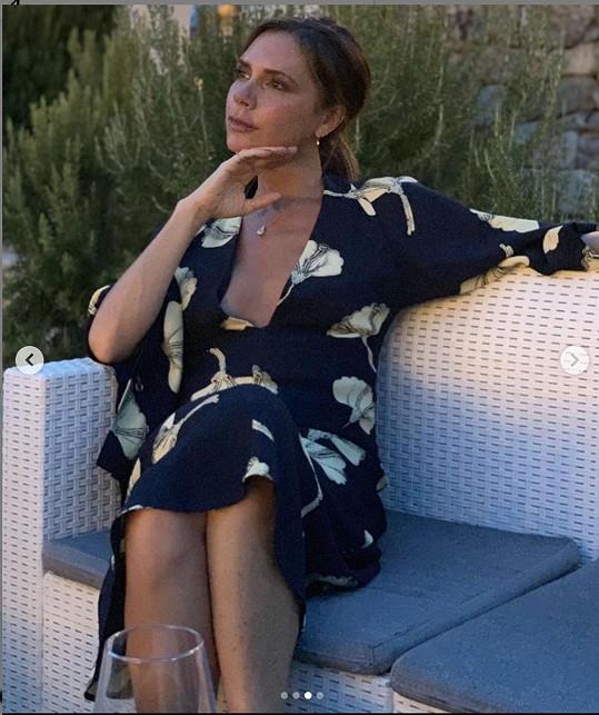 Tohle je jeden ze snímků, kterými přál své ženě David Beckham.