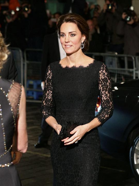 Vévodkyně je ve čtvrtém měsíci těhotenství.