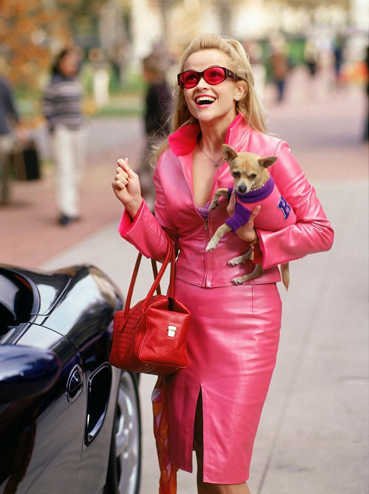 Růžová barva je pro ni životním stylem.