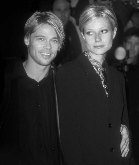 Gwyneth Paltrow a Brad Pitt si v době, kdy spolu chodili, zašli ke stejné kadeřnici.