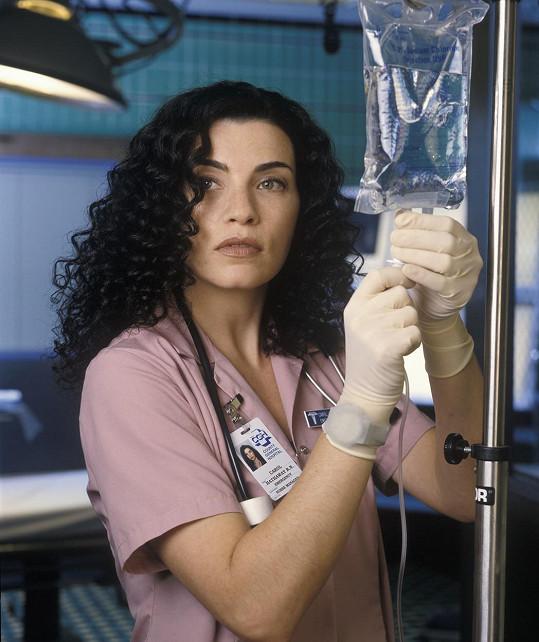 Julianna Margulies v seriálu Pohotovost