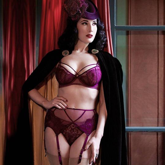 Dita Von Teese je sama sobě modelkou.