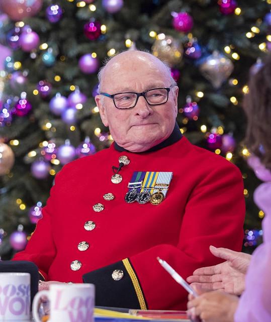 Válečný veterán v pořadu Loose Women poradil, jak na dlouholeté manželství.