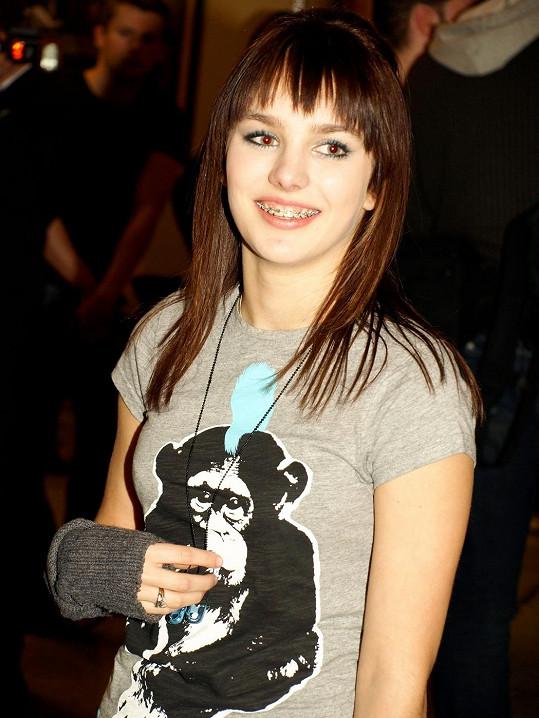 Ewa Farna v počátcích své hudební kariéry