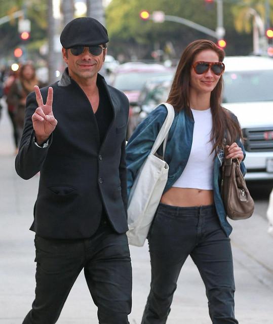 Stamos s přítelkyní Caitlin McHugh