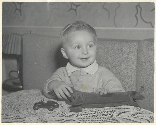 Václav Tittelbach jako malý chlapec