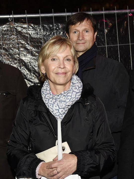 Jan Hrušínský a Miluše Šplechtová