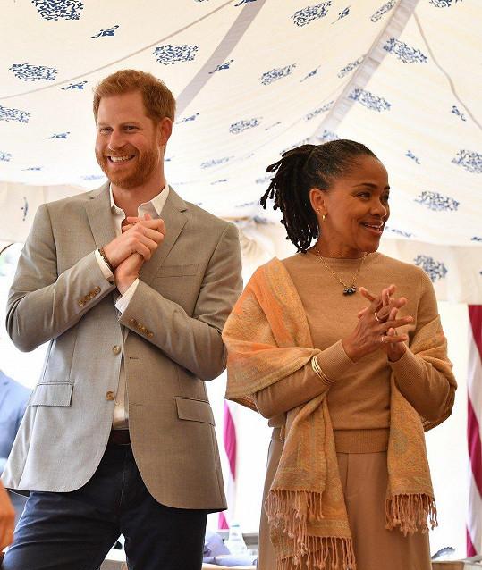 Princ Harry s tchyní Dorií