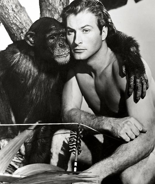 Postava Tarzana mu v první polovině padesátých let přinesla popularitu u ženského publika.
