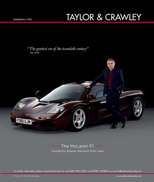 Ve skutečném životě je milovníkem rychlých vozů. Vlastnil i McLaren F1.