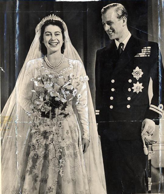 """""""Jsem statečný, nebo jen pošetilý?"""" ptal se Philip své sestřenice v den svatby."""