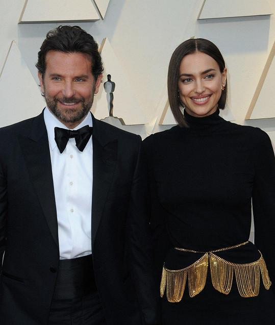 Irina doprovodila partnera Bradleyho Coopera na udílení Oscarů.