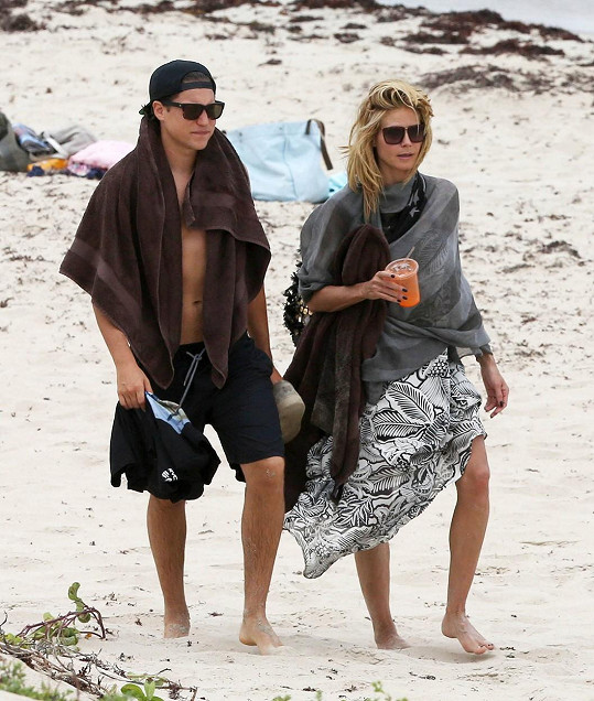 Heidi a Vito odletěli za teplem do Karibiku.